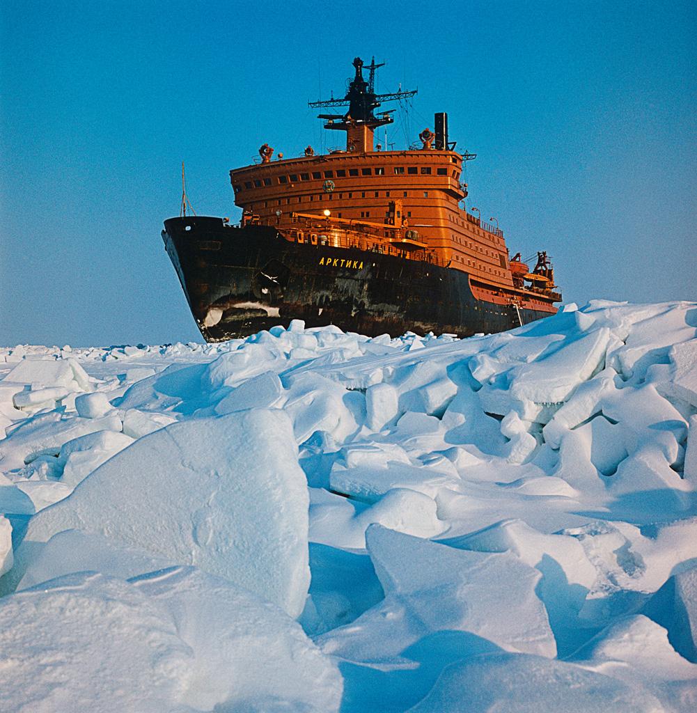 «Арктика»- ледокол, исполнивший мирную мечту боевого адмирала