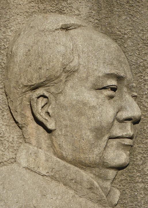 Мао Цзэдун - современный барельеф