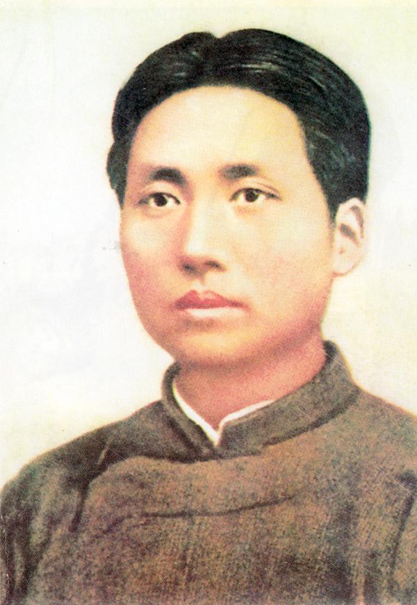 Молодой Мао Цзэдун